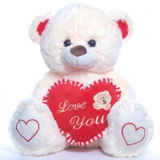Мягкая игрушка Медвежонок Влюбленный №2. Переяслав-Хмельницкий. фото 1