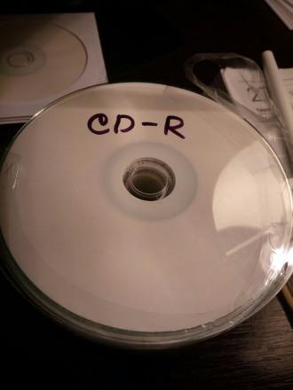 Cd-R диски белые под принт. Николаев. фото 1