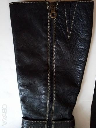 Продам сапоги из натуральной кожи, производство - Испания, высота голенища сзади. Запорожье, Запорожская область. фото 6