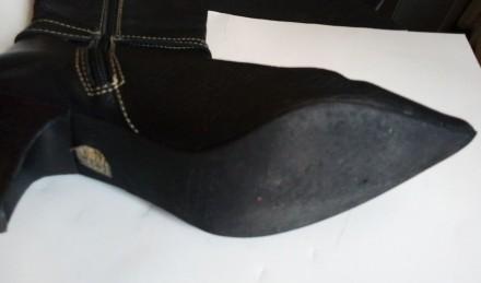 Продам сапоги из натуральной кожи, производство - Испания, высота голенища сзади. Запорожье, Запорожская область. фото 8