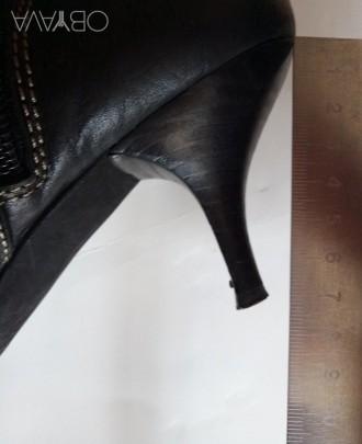 Продам сапоги из натуральной кожи, производство - Испания, высота голенища сзади. Запорожье, Запорожская область. фото 10