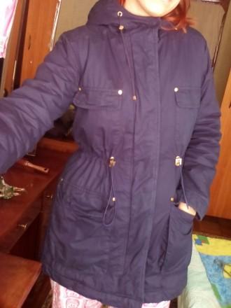 Состояние идеальное. Носилась редко, тёплая. Я носила её зимой. Есть мех для кап. Чернигов, Черниговская область. фото 2