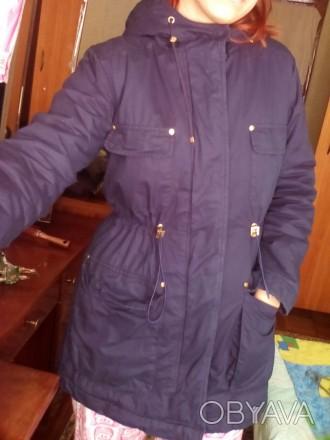 Состояние идеальное. Носилась редко, тёплая. Я носила её зимой. Есть мех для кап. Чернигов, Черниговская область. фото 1
