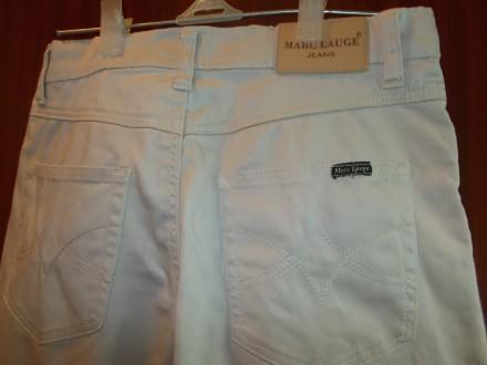 Продам светлые коттоновые джинсы на крупного мальчика 7-8 лет в хорошем состояни. Чернигов, Черниговская область. фото 6