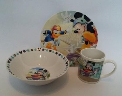 Детский набор посуды Микки Маус. Переяслав-Хмельницкий. фото 1