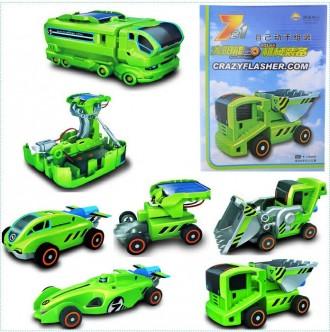 Конструктор на солнечной батарее Oxford 7в1 Автомобили. Переяслав-Хмельницкий. фото 1