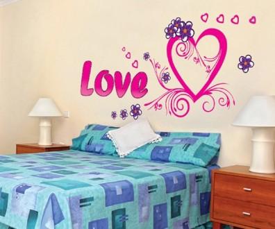 Интерьерная наклейка на стену Любовь (AY9074). Переяслав-Хмельницкий. фото 1