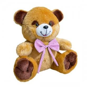 Мягкая игрушка Медведь Тимка маленький коричневый. Переяслав-Хмельницкий. фото 1
