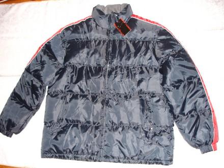 Куртка ХХL, нова, зимова, темно-синя, чоловіча, утеплена, з Німеччини. Львов. фото 1