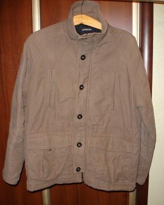 Куртка 48-50 р. (L-ка), зимова, LERROS, оливкового кольору, чоловіча. Львов. фото 1