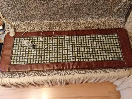 НЕФРИТОВЫЙ МАТРАС,420 камней 150х50см электрический. Черкассы. фото 1