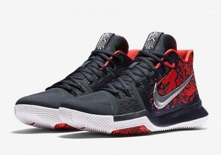 f93f2b78 Баскетбольные мужские кроссовки Nike Kyrie 3 Samurai Бесплатная доставка!