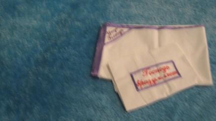 Продам новое  детское постельное белье  Простынка и наволочка, Белое - с фиолет. Чернигов, Черниговская область. фото 4