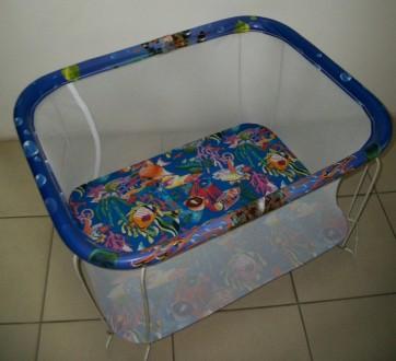 Манеж детский Kinder Box. Сумы. фото 1