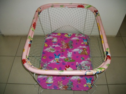 Манеж с мелкой сеткой + 35 грн.Манеж предназначен для детей в возрасте от 5-6 ме. Сумы, Сумская область. фото 3