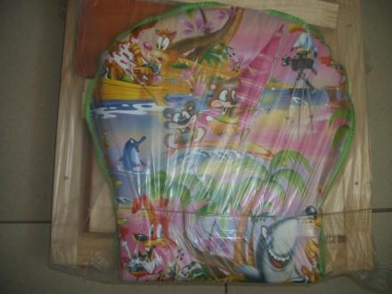 Манеж с мелкой сеткой + 35 грн.Манеж предназначен для детей в возрасте от 5-6 ме. Сумы, Сумская область. фото 7
