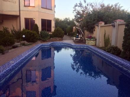 Червоный Хутор Институтская Продам шикарный дом с бассейном на 9 сотках. Одесса. фото 1