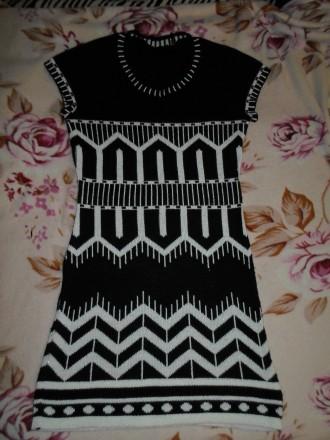 Вязаное платье. Ужгород. фото 1