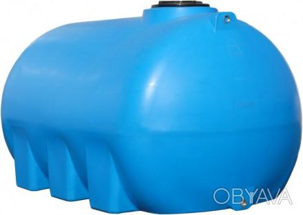 Полиэтиленовая емкость для транспортировки объемом 5000 литров. Внутри емкости д. Гадяч, Полтавская область. фото 1