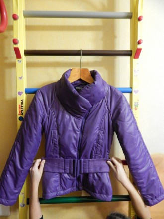 Фиолетовая демисезонная куртка Lawine, 40 размер. Чернигов. фото 1