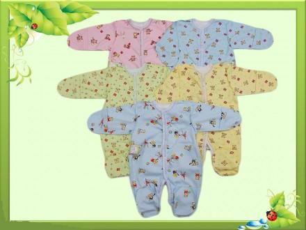 Человечек для новорожденного(с интерлока) М0013-09. Горишные Плавни. фото 1