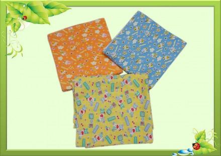 Пеленки для новорожденных с кулира и футера начесного.. Горишные Плавни. фото 1