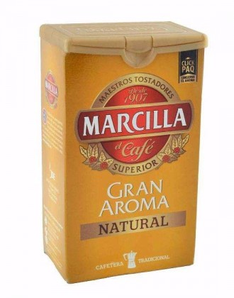 кава мелена, кофе молотый MARCILLA 250гр. из Испании. Черновцы. фото 1