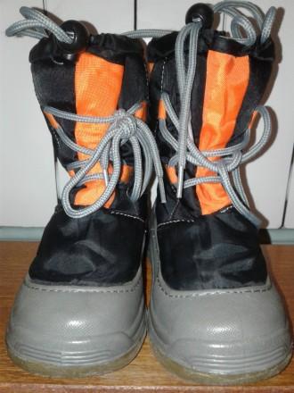 Ботинки детские зимние \теплые\ водостойкие \р.29. Стрий. фото 1