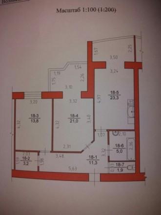 Квартира у новобудові по вул.Рівенська. 3 житловий поверх. Панорамні вікна. Не к. Луцк, Волынская область. фото 4