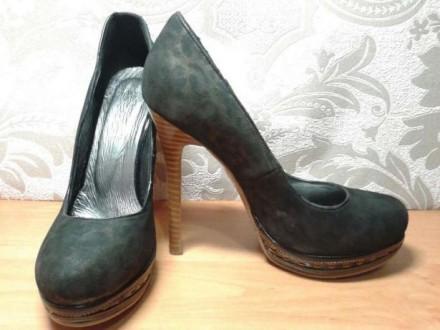 Туфли женские, новые. Размер 39. Высота платформы - 2 см. Высота каблука- 13.5 с. Одесса, Одесская область. фото 6