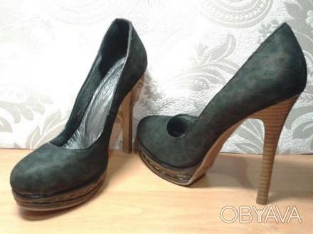 Туфли женские, новые. Размер 39. Высота платформы - 2 см. Высота каблука- 13.5 с. Одесса, Одесская область. фото 1
