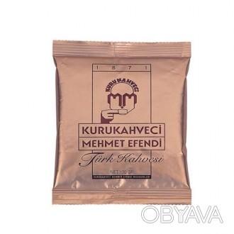 """Турецкий кофе """"Kurukahveci mehmet efendi"""" премиум класса. Кофе самого мелкого по. Запорожье, Запорожская область. фото 1"""