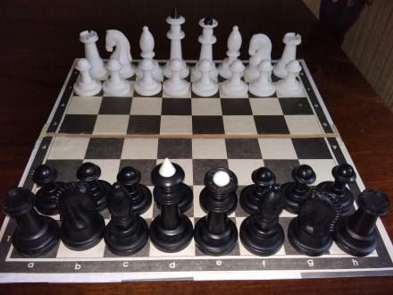 Шахова дошка/шахматная доска картонна. Одесса. фото 1