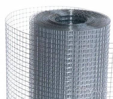 Сетка сварная оцинкованная ф 1,4 мм ячейка 10х10 мм. Киев, Киевская область. фото 1