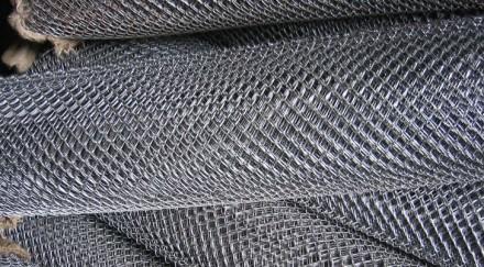 Сетка стальная тканая 3.2x0.8. Киев. фото 1