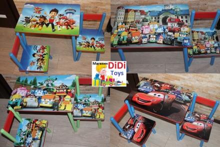 Детский стол (столик) Тачки (варианты). Київ. фото 1