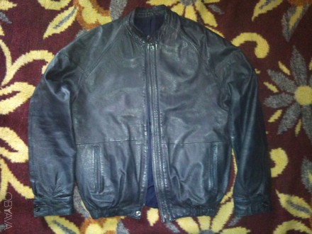 Курточка кожаная куртка. Овруч. фото 1