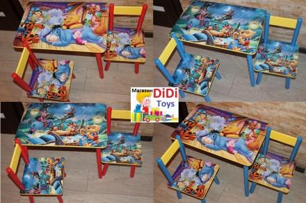 Детский столик Винни пух в комнате (100 вариантов). Київ. фото 1