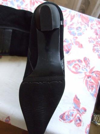 Четыре пары женских сапог. Натуральная кожа. Состояние новое или два раза одевал. Сумы, Сумская область. фото 8