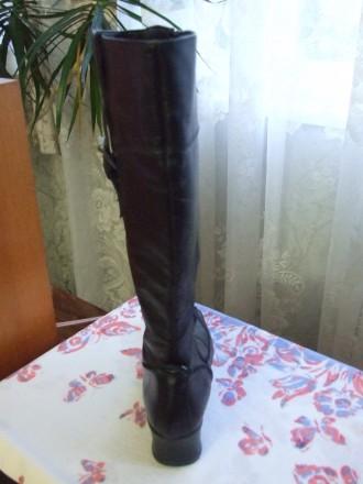 Четыре пары женских сапог. Натуральная кожа. Состояние новое или два раза одевал. Сумы, Сумская область. фото 11