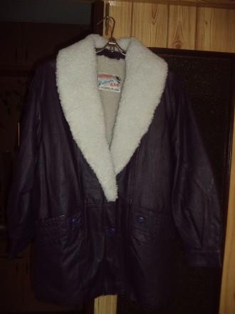 Куртка женская из натуральной кожи, зимняя, 48-50 размер.. Біла Церква. фото 1