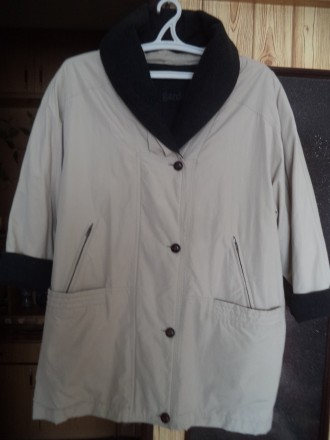 Куртка женская демисезонная 56- 58 размер. Біла Церква. фото 1
