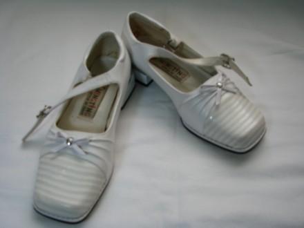 Нарядные туфли Италия стелька 19, 5 см. ,. Харьков. фото 1