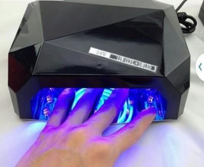 Ультрафиолетовая Led UV лампа 36 W с таймером для маникюра и педикюра. Чернигов. фото 1