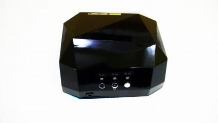 Ультрафиолетовая Led UV лампа 36 W с таймером для маникюра и педикюра  Кристалл. Чернигов, Черниговская область. фото 10