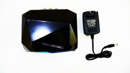 Ультрафиолетовая Led UV лампа 36 W с таймером для маникюра и педикюра  Кристалл. Чернигов, Черниговская область. фото 8