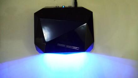 Ультрафиолетовая Led UV лампа 36 W с таймером для маникюра и педикюра  Кристалл. Чернигов, Черниговская область. фото 6
