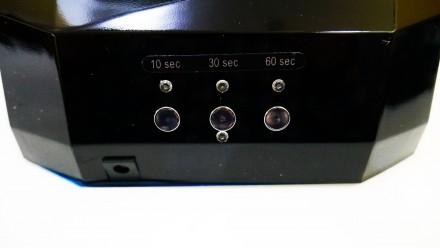 Ультрафиолетовая Led UV лампа 36 W с таймером для маникюра и педикюра  Кристалл. Чернигов, Черниговская область. фото 9