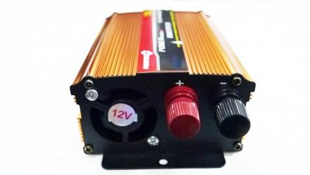 Преобразователь напряжения  12V в ~220V 500W Технические характеристики: - m. Чернигов, Черниговская область. фото 2