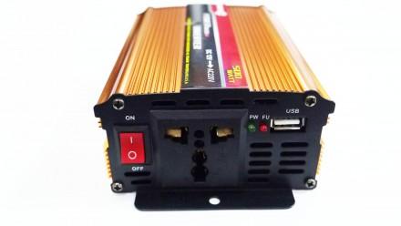Преобразователь напряжения  12V в ~220V 500W Технические характеристики: - m. Чернигов, Черниговская область. фото 3